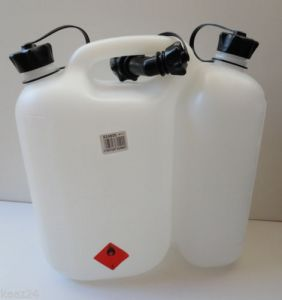 Oregon Clear Combi Fuel Oil Can - Clear 562408