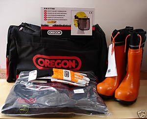 Oregon Chainsaw User Kit withType C Leggings