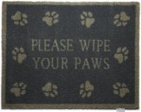 Hug Rug Barrier Mat Please Wipe Your Paws Pet 10