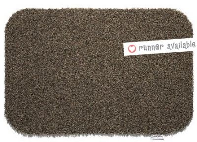 Hug Rug Plain Coffee Barrier Mat