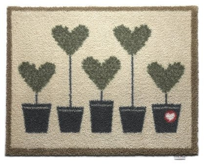 Hug Rug Barrier Mat Topiary 10 Size 65 x 85cms