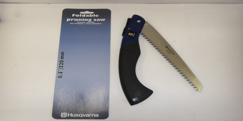 "Husqvarna 8.5"" / 220mm Folding Pruning Saw"