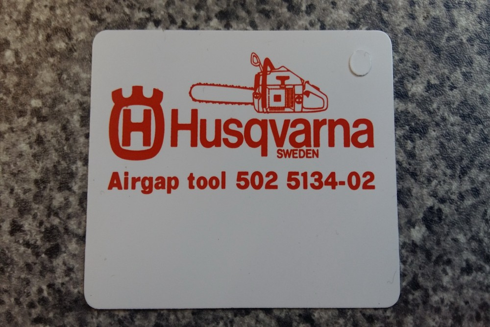 Husqvarna Feeler Gauges