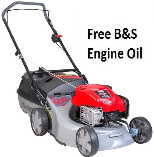 Masport 500 AL Push Petrol Lawnmower 482948