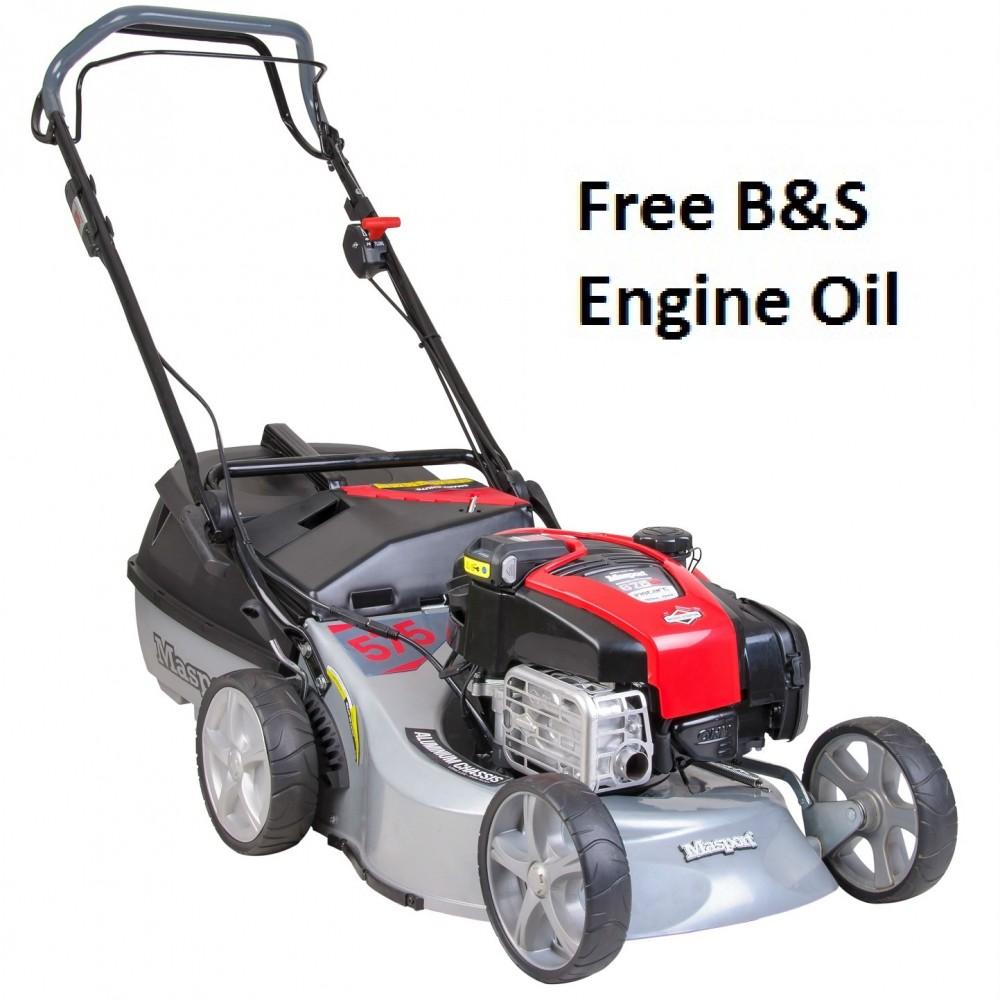 Masport 575 AL-SP Combination Electric Start 4-in-1 Petrol Lawnmower 467779
