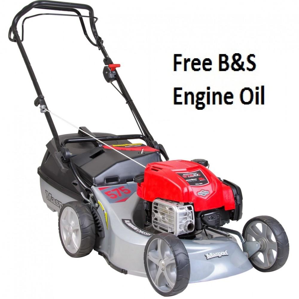 Masport 575 AL-SP Combination Power-Driven 4-in-1 Petrol Lawnmower
