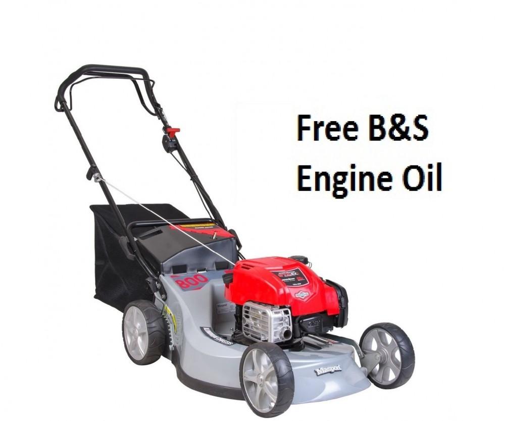 Masport Widecut 800 AL SP COMBO Self-Propelled Petrol Lawn Mower 465746