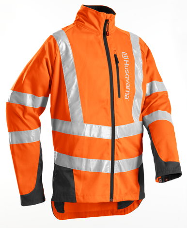 Husqvarna Classic Forest High Viz Jacket  (Non Protective)