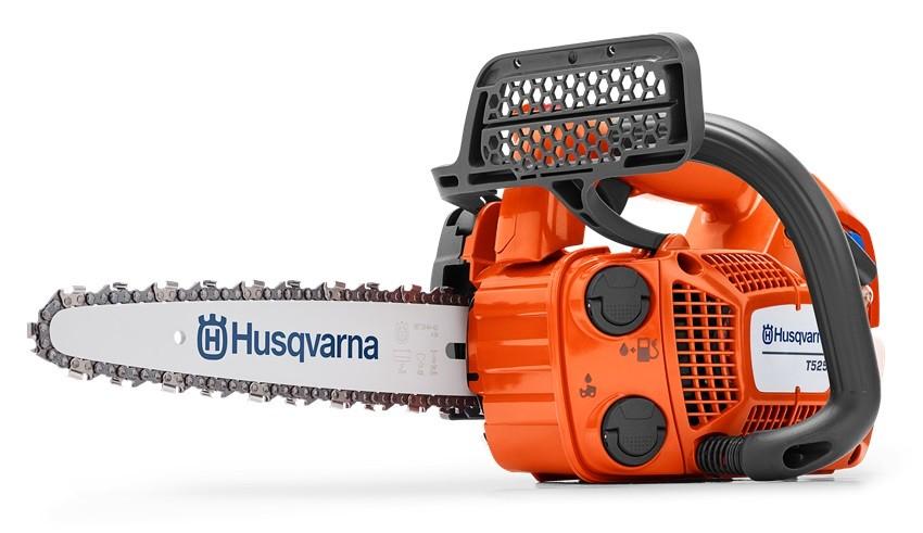 "Husqvarna T525 Top Handle Petrol Chainsaw 10"""