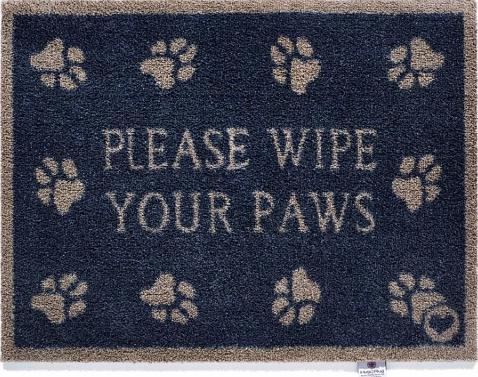 Hug Rug Barrier Mat Please Wipe Your Paws Pet 10 Size 65 x 85cms