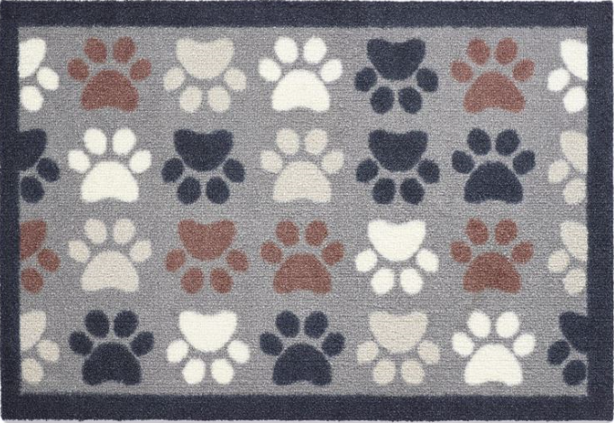 Howler and Scratch Mat Multi Paw 3 Size 50 x 75cms