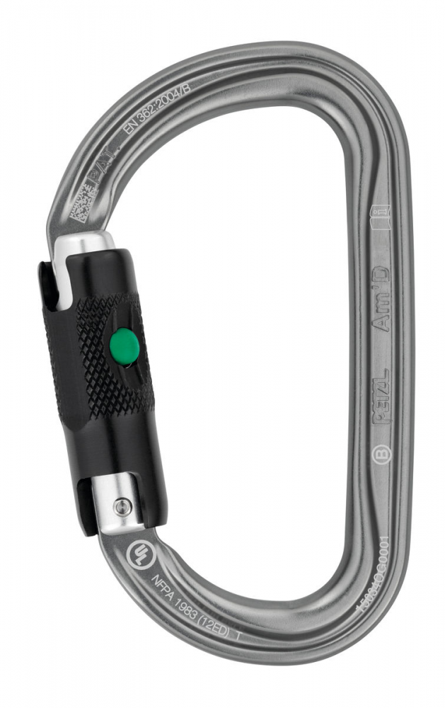 Petzl Am'D Ball Lock Carabiner M34A BL
