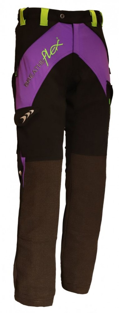 Arbortec Breatheflex Ladies Purple Type C Class 1 Chainsaw Trousers