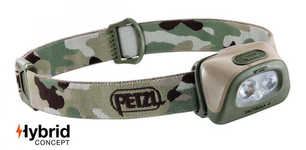 Petzl TACTIKKA + Headlamp Camo 350 Lumen E089EA01