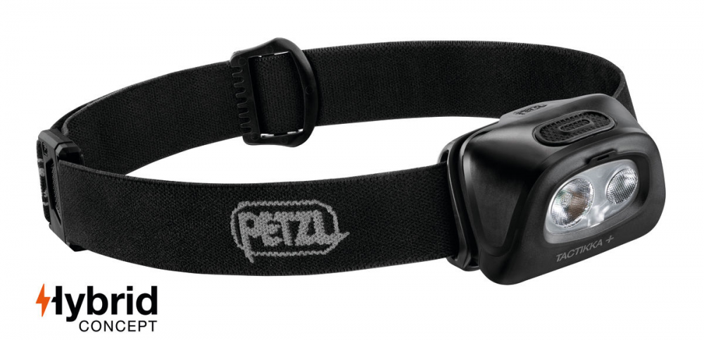 Petzl TACTIKKA + Headlamp Black 350 Lumen E089EA00