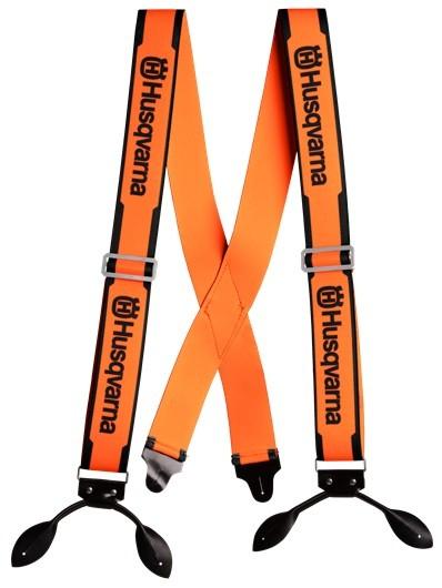 Husqvarna Braces with Leather Strap 505618510