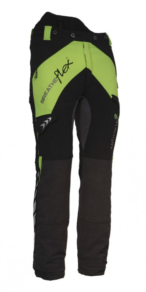 Arbortec Breatheflex Ladies Lime Type C Class 1 Chainsaw Trousers