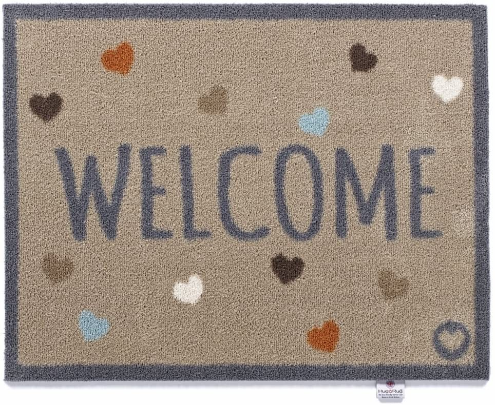 Hug Rug Home 34 Mat Welcome Size 65cm x 85cm
