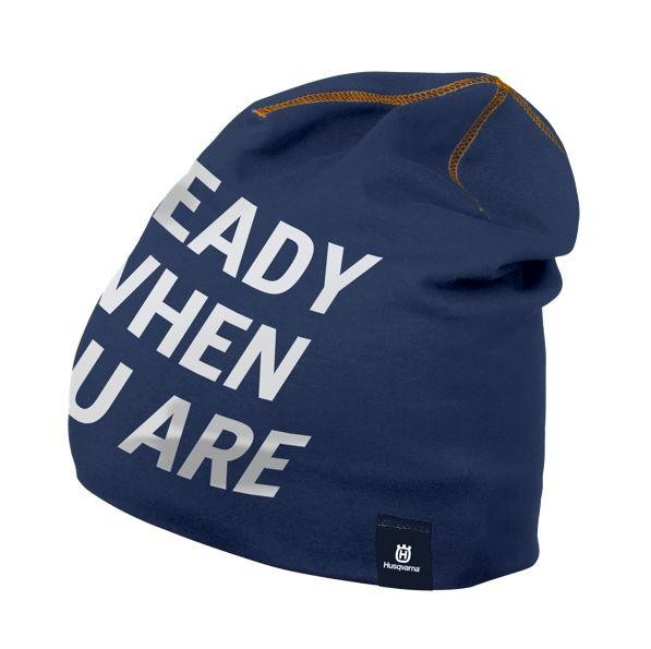 Husqvarna Beanie Hat Ready When You Are