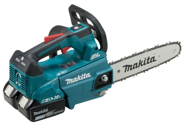 Makita 18Vx2 Battery Top Handle Chainsaw Kit 250mm LXT DUC256PG2