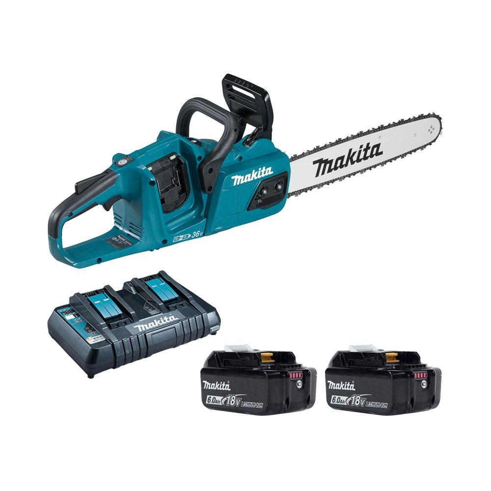 Makita 18Vx2 Battery Chainsaw Kit 400mm BL LXT DUC405PG2