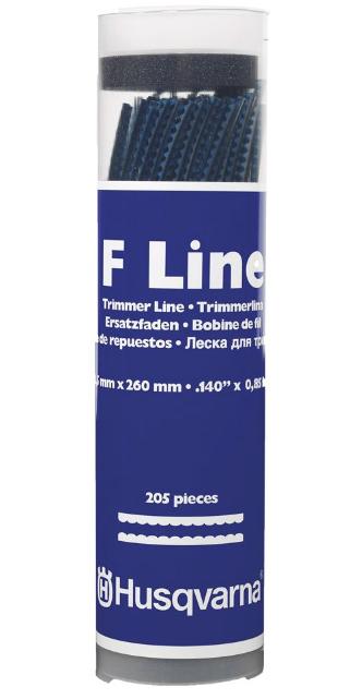 Husqvarna F Line Trimmer line 205 Pieces
