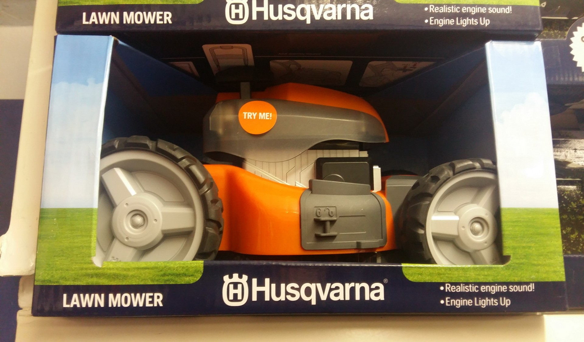Husqvarna Toy Lawnmower Pre Order 2 10 19 For Sale
