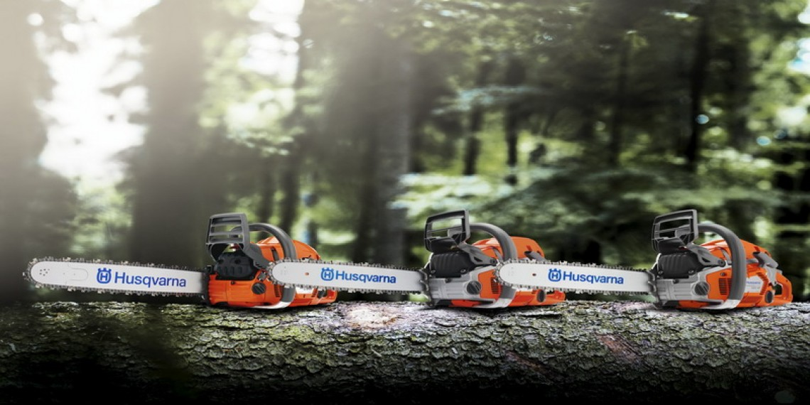 Husqvarna chainsaws from £135.00 inc